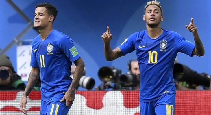 برزیل 2 – 0 کاستاریکا؛ برتری در اوقات اضافه