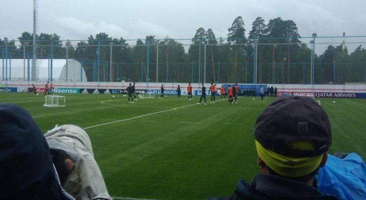 گزارش اختصاصی فوتبال ترایب از تمرین پرتغال و عصبانیت رونالدو