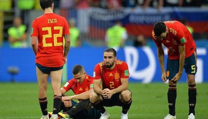 حذف تیم ملی اسپانیا با شکست در پنالتی برابر روسیه