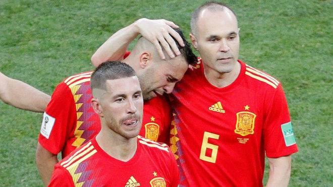 رسمی؛ آندرس اینیستا  از تیم ملی اسپانیا خداحافظی کرد