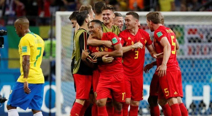 برزیل 1 – 2 بلژیک؛ حذف تلخ سلسائو در روسیه