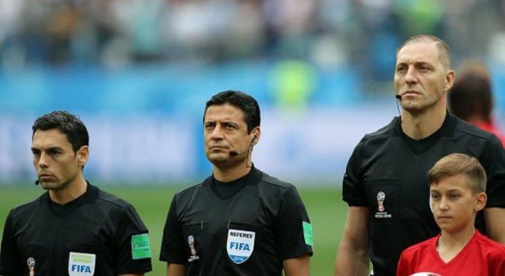 علیرضا فغانی، داور دیدار رده بندی جام جهانی 2018