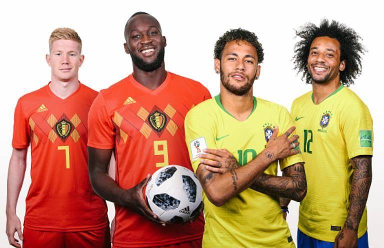 شش دوئل سرنوشت ساز بازی برزیل- بلژیک