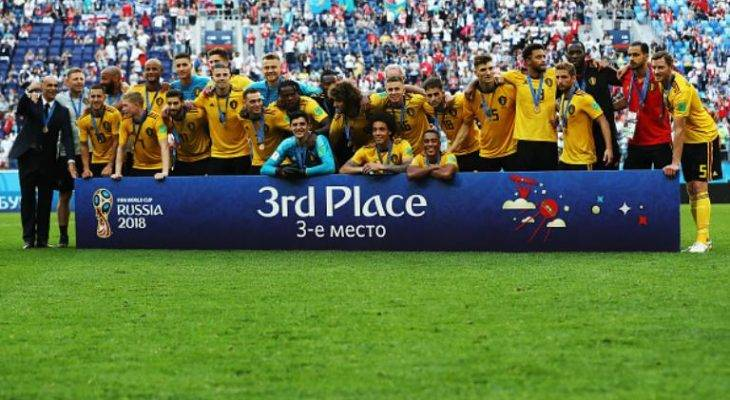 بلژیک 2-0 انگلیس؛ رتبه سوم جام جهانی 2018 برای شیاطین سرخ