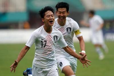 صعود کره جنوبی و ژاپن به فینال بازی های آسیایی