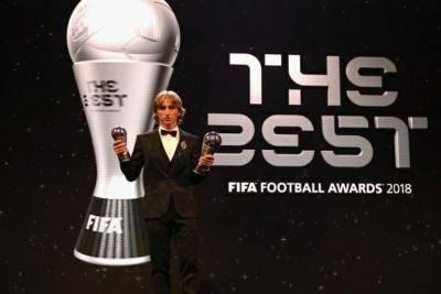 لوکا مودریچ، مرد سال فوتبال جهان شد