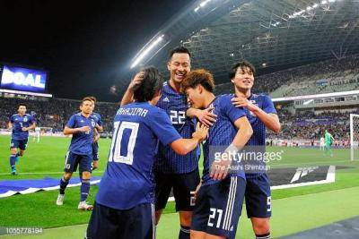 پیروزی ژاپن مقابل اروگوئه در دیدار دوستانه