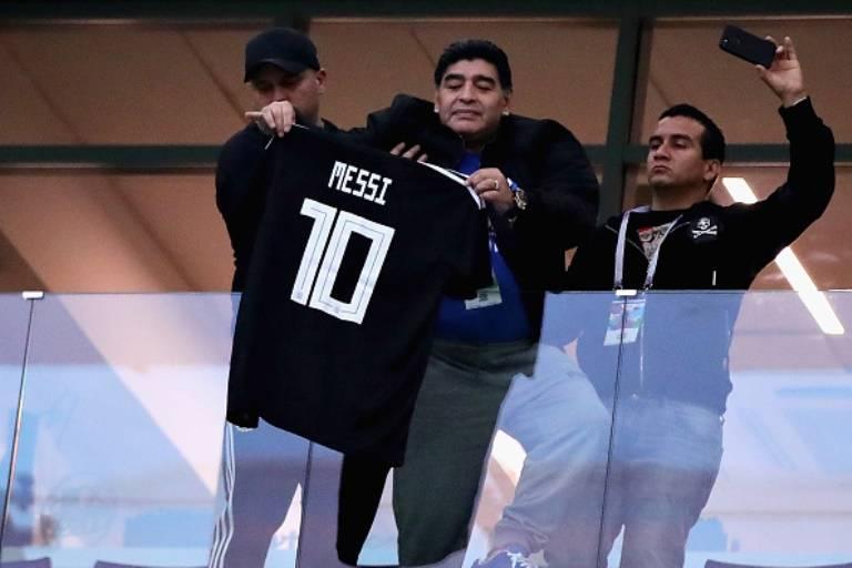 مارادونا: بازی های تیم ملی آرژانتین را تماشا نمی کنم