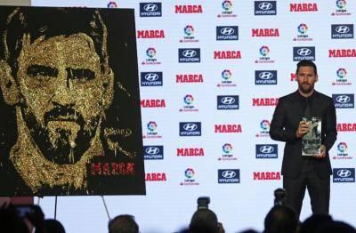 مسی، بهترین بازیکن و بهترین بازیکن فصل 18-2017 لالیگا