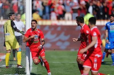 پرسپولیس 1-0 استقلال: فرار قرمزها به سوی قهرمانی