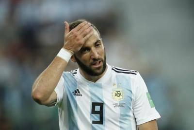 رسمی: خداحافظی گونسالو ایگواین از تیم ملی آرژانتین