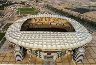 فولاد آره نا، میزبان دیدار فینال جام حذفی 98