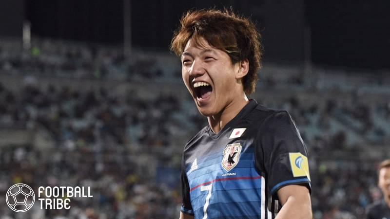 U-20日本代表、W杯決勝T進出。堂安の衝撃2発でイタリアにドロー