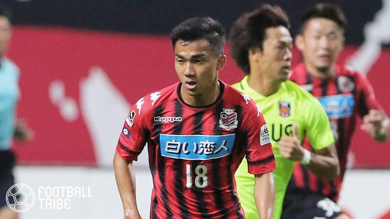 J1札幌のタイ代表MFチャナティップにCL・EL出場クラブからオファー!移籍金は2.5億円も…