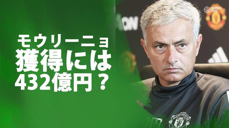 モウリーニョ氏、記者からの質問にジョーク「私はネイマールより1億ポンド高い」