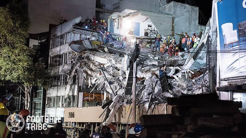 米テレビ局、メキシコ地震支援に動く。リーグ戦試合中継などで募金呼びかけへ