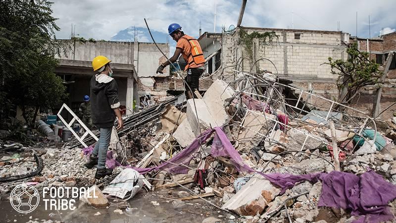 地震被害のメキシコに2650万円寄付。バルセロナがユニセフと共に支援