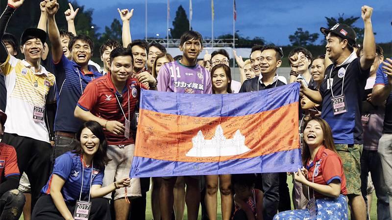 カンボジア史上初のJリーガー、ワタナカが途中出場でリーグ戦デビュー