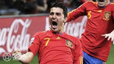 元スペイン代表ビジャがJリーグへ!? MLSに別れ告げるツイート