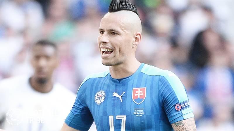 中国クラブと契約解除の元ナポリMFハムシク、スウェーデン1部ヨーテボリへの加入決定!