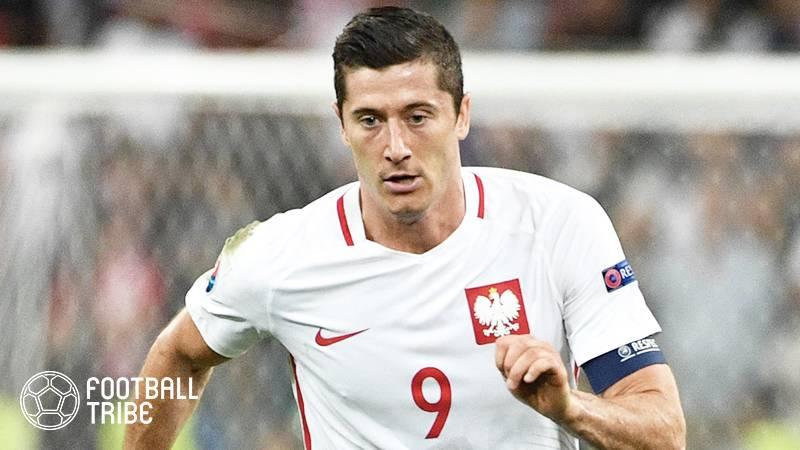 レバンドフスキ、W杯欧州予選で代表通算50ゴール到達。ポーランドの歴代記録を更新