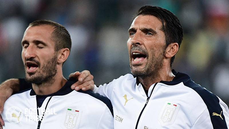 イタリア代表の守護神ブッフォンがW杯プレーオフに意気込み「20年前と同じ結果を」