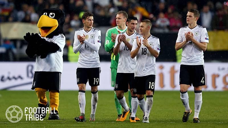 前回王者ドイツ、W杯予選全勝。得失点差39で大会新記録樹立