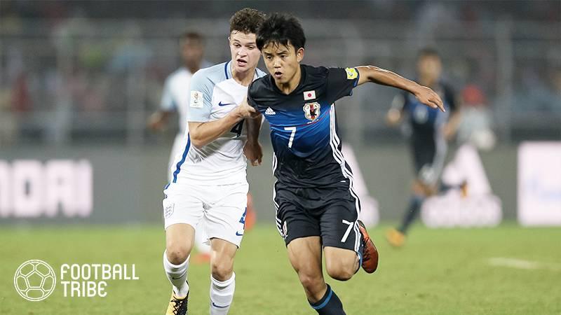 U-17W杯、日本はベスト16敗退。イングランドに善戦するもPK戦の末敗北