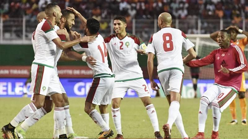 モロッコが強豪コートジボワールとの直接対決制し5大会ぶりW杯出場決定。デンマークはホームでアイルランドとドローに。