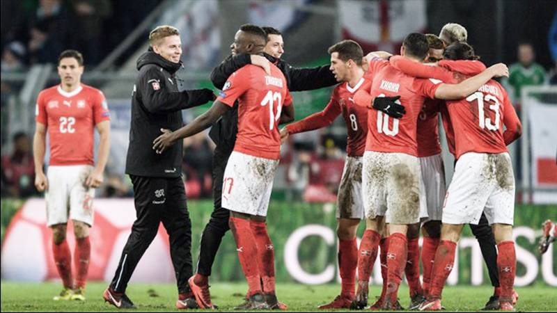 スイスが合計スコア1-0で11度目のW杯進出決定。1stレグ圧勝のクロアチアも本大会への切符つかむ