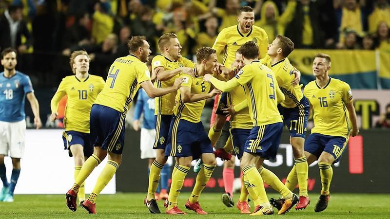 スウェーデンがホームでイタリアを撃破。3大会ぶりのW杯出場に前進