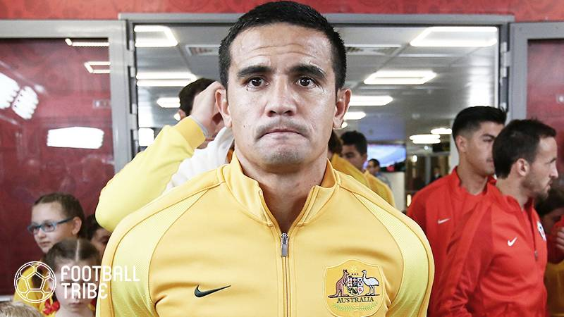オーストラリア代表のケーヒル、足首を負傷か。W杯プレーオフは欠場の恐れ