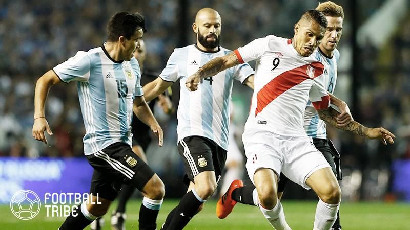 ペルー代表キャプテン、コカイン使用発覚で1年間の出場停止処分。W杯欠場が決定