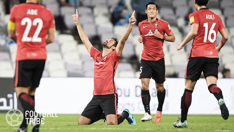 浦和レッズ、5位決定戦でアフリカ王者に勝利。マウリシオ2発、柏木のゴール
