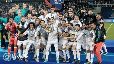 UEFAクラブランキング、1位レアルが独走。2位にはあのチームが浮上