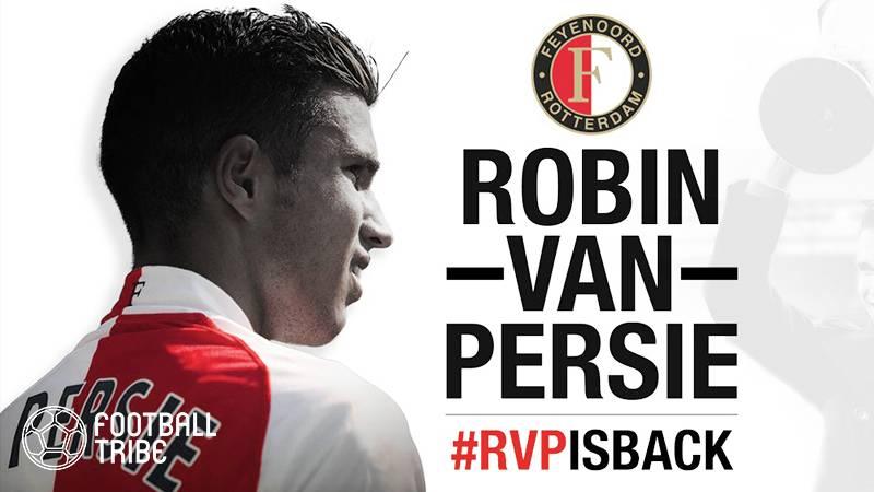 ファン・ペルシの14年ぶりオランダ復帰が決定。古巣フェイエノールトが獲得を発表