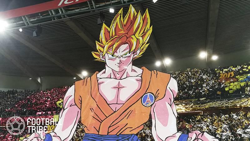 【動画あり】PSG、マルセイユ相手に3発快勝。試合前にはスタジアムに巨大な孫悟空が登場