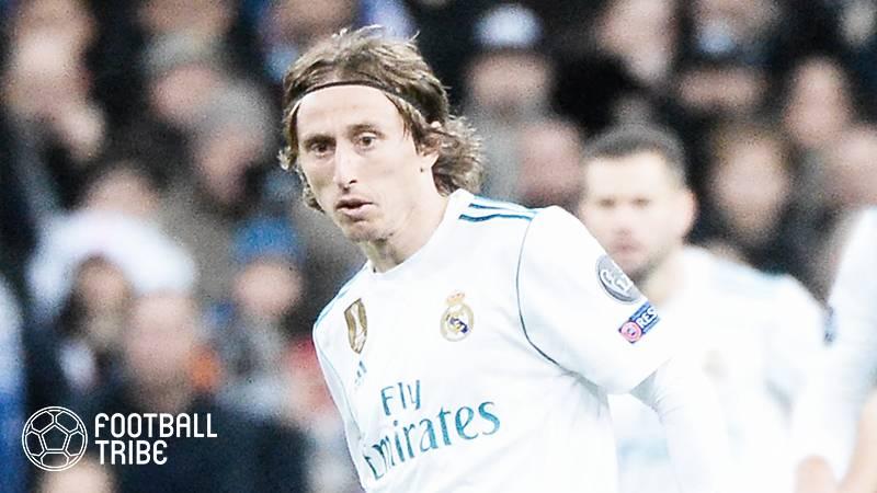 モドリッチ、UEFAスーパー杯メンバー入りでレアル残留濃厚に