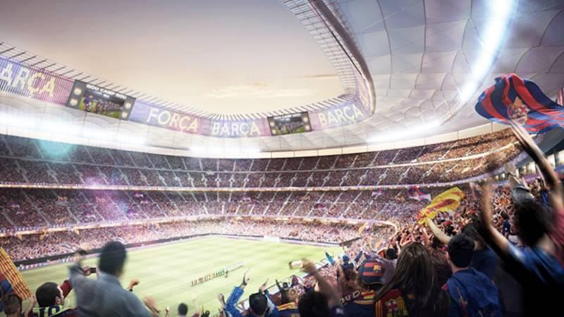 バルサ、スタジアム改修工事が2019年夏に開始か。「エスパイ・バルサ」スタートへ