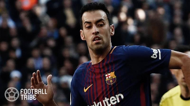 バルサ、今節バレンシア戦でフランス代表FWの欠場決定。ブスケツも出場停止