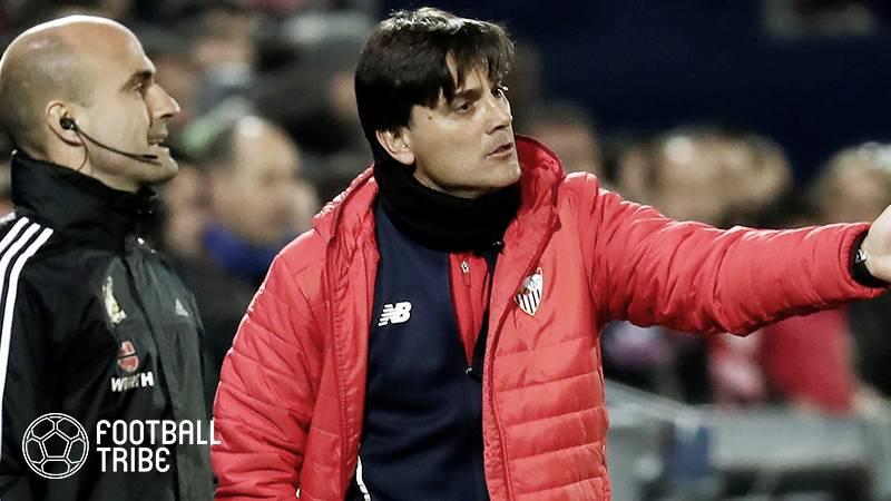 セビージャ指揮官モンテッラ、ミランに続き今季2度目となる解任決定