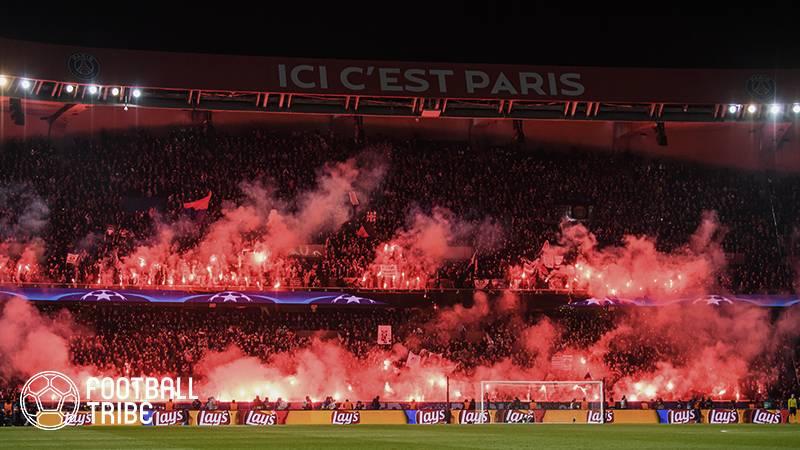 PSG、UEFAから来季のCLでスタンド閉鎖処分か。レアル戦2ndレグでの行為が原因
