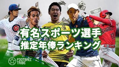 有名スポーツ選手の推定年俸は?大谷翔平、本田圭佑、香川真司、錦織圭…