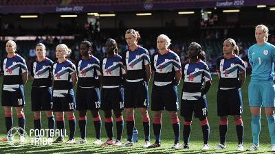 英国女子代表が東京五輪参戦へ。リオでは実現しなかったチーム結成にFAが自信
