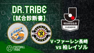 Dr.TRIBE【試合診断書】J1リーグ第9節 V・ファーレン長崎対柏レイソル