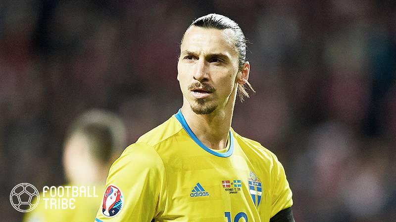 イブラ、4年ぶりのスウェーデン代表復帰も!ロシアW杯ではSNSで…