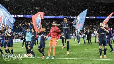 PSG、モナコを7ゴール粉砕で2季ぶり7度目のリーグ優勝決定