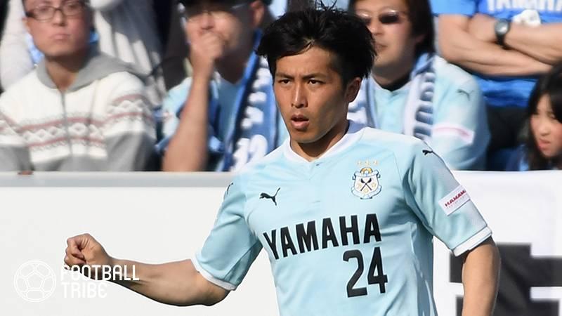 ジュビロ磐田、主力DF小川大貴が戦線離脱。京都サンガ戦でゴールも直後の負傷交代…