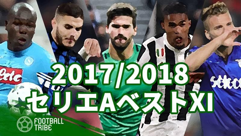 【2017/2018シーズン】セリエA・ベストイレブン