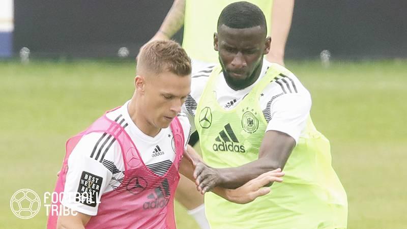 ドイツ代表、ロシアW杯に向けた合宿中にDF2選手が口論に